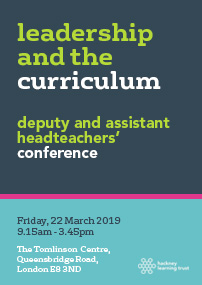 Leadership and the curriculum